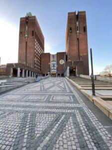 Rathaus, Oslo, Norwegen