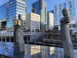 Architektur, Oslo, Norwegen