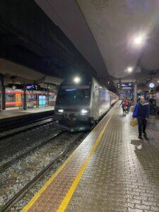 Bergenbahn Bahnhof Oslo, Norwegen