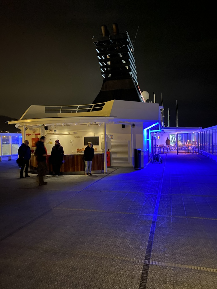 Hurtigruten, MS Nordnorge, Deck 7