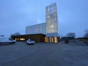 Kirche, Rørvik, Norwegen