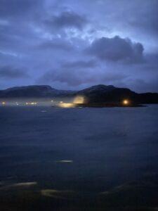 Polarkreis überquert, Gjersvikgrenda, Nordland, Norwegen