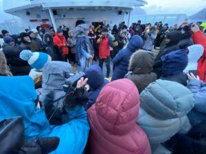Hurtigruten MS Nordnorge, Polarkreistaufe