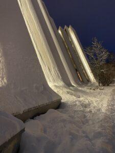 Eismeerkathedrale in Tromsø