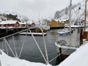 Hafen auf den Lofoten