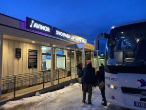 Flughafen von Svolvær